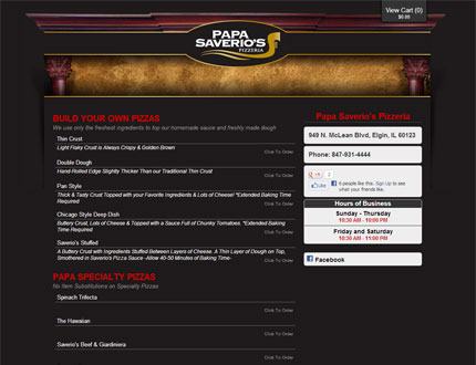 Papa Saverio's Website