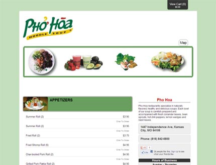 Pho Hoa Website